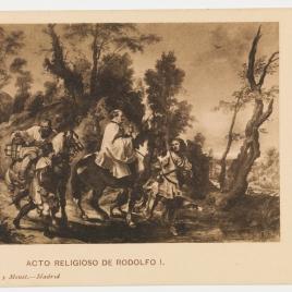 Acto de devoción de Rodolfo I de Habsburgo