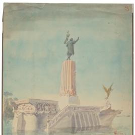 Proyecto de monumento a Colón