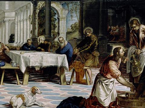 <em>El lavatorio</em>, Jacopo Robusti Tintoretto, comentada por Josep Maria Subirachs