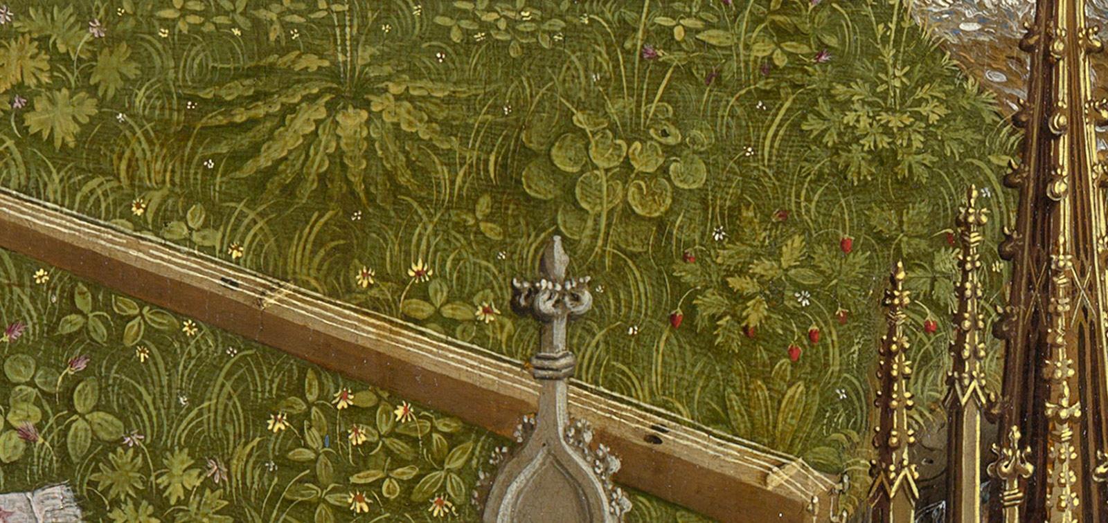 <em>La Fuente de la Gracia. Paseo por un prado florido</em>