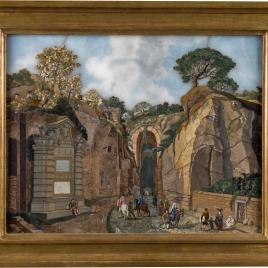 La gruta de Posillipo en Nápoles