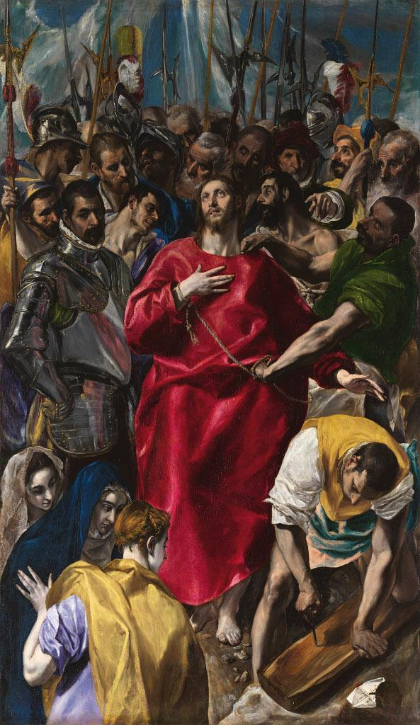 One of El Greco's great masterpieces, The Disrobing of Christ, is enhancing the Museum's collection