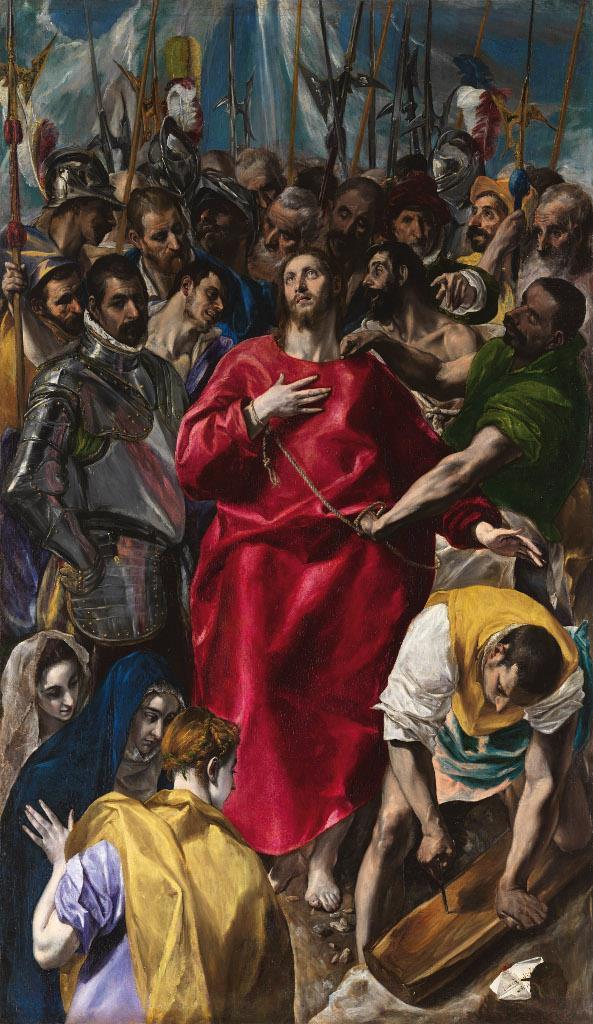 El Museo del Prado enriquece temporalmente su colección incorporando una de las obras capitales de El Greco, El Expolio de Cristo