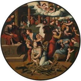 Martirio de santa Inés
