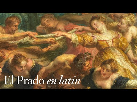 """""""Danza de personajes mitológicos y aldeanos"""", de Rubens, con comentarios en latín"""