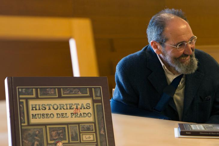 HISTORIETAS del MUSEO DEL PRADO, un cómic de Sento inspirado en los 200 años de historia del Museo
