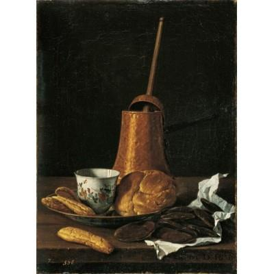 """Still Life with Chocolate Service"""