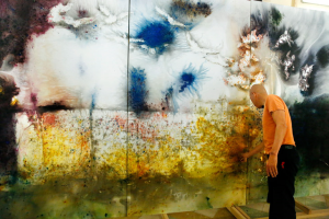Cai Guo-Qiang Begins Month-Long On-Site Creation at the Prado Museum for The Spirit of Painting