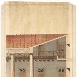 Edificación destinada a los soldados en Pompeya