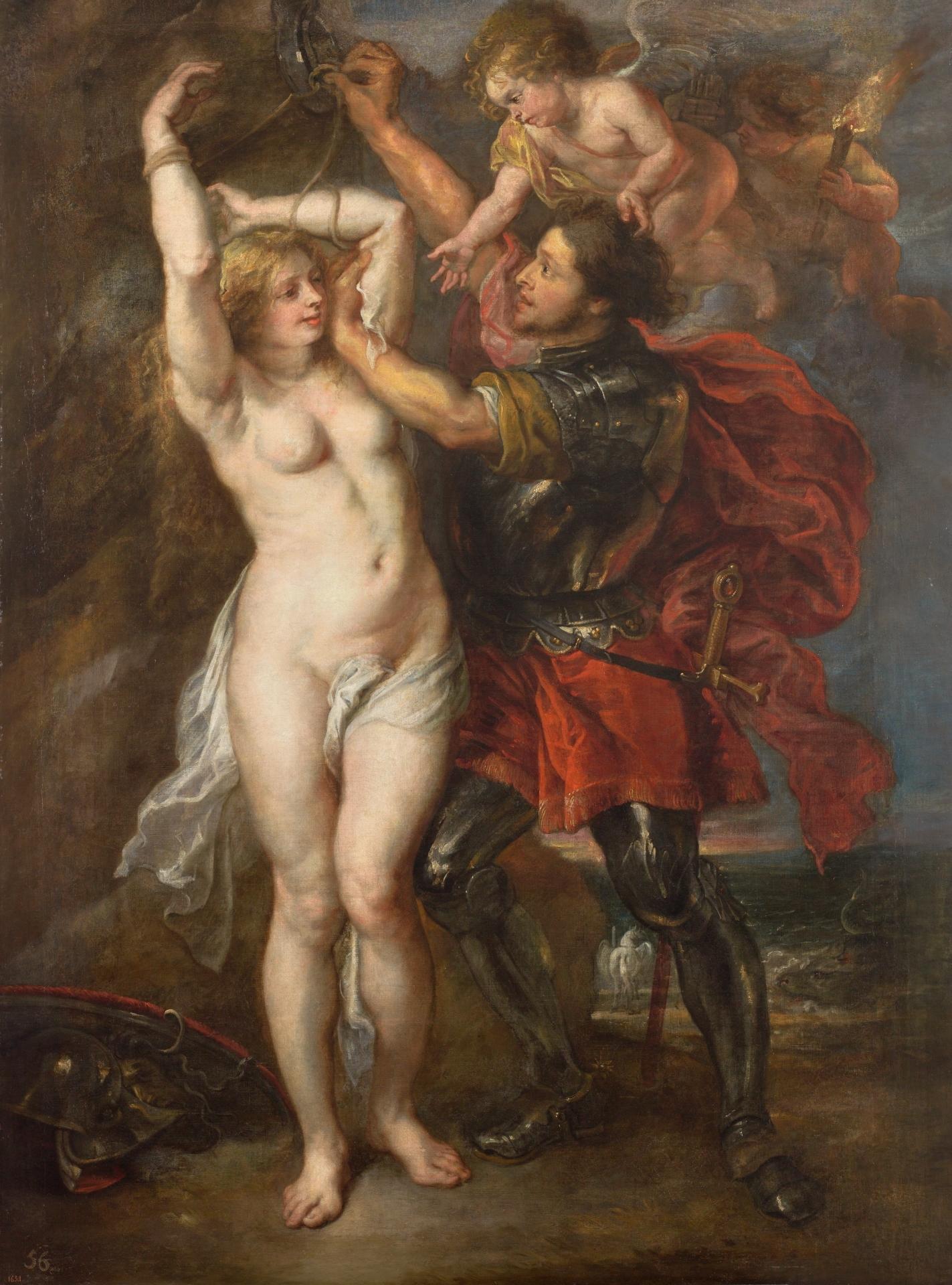 Perseo Y Andrómeda Colección Museo Nacional Del Prado