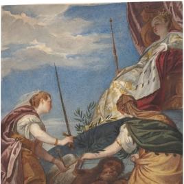Alegoría de Venecia dominadora con la Justicia y la Paz
