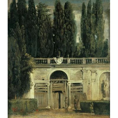 """View of the Garden of the Villa Medici in Rome"""