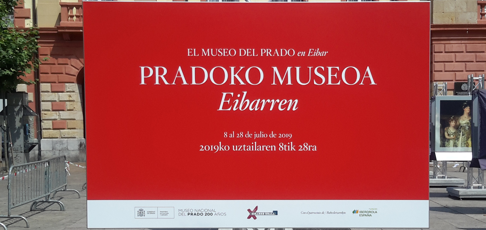 Exposición didáctica: El Museo del Prado en Eibar