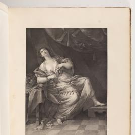 Cleopatra dándose muerte