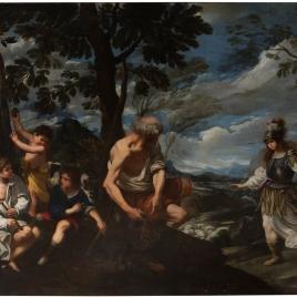 Llegada de Herminia a la cabaña de los pastores
