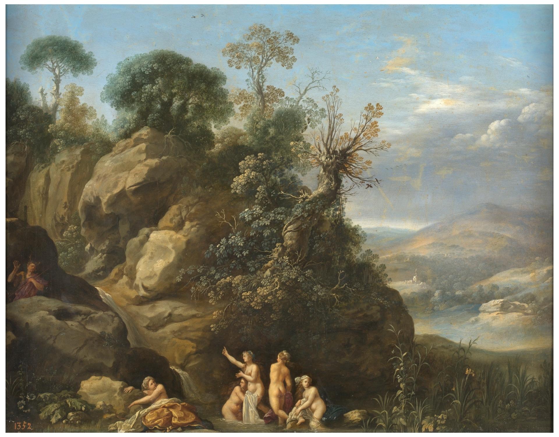 Boucher El Bano De Diana.El Bano De Diana Coleccion Museo Nacional Del Prado