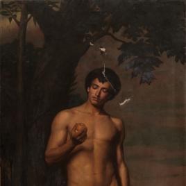 Adán antes de comer el fruto