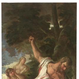 Hércules en la pira