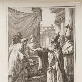 La cátedra de San Pedro en Roma, 18 de enero