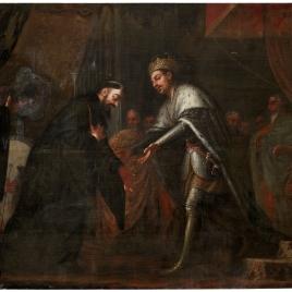 San Agustín ante el emperador Honorio