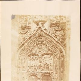 Puerta Oeste de la Catedral de Salamanca