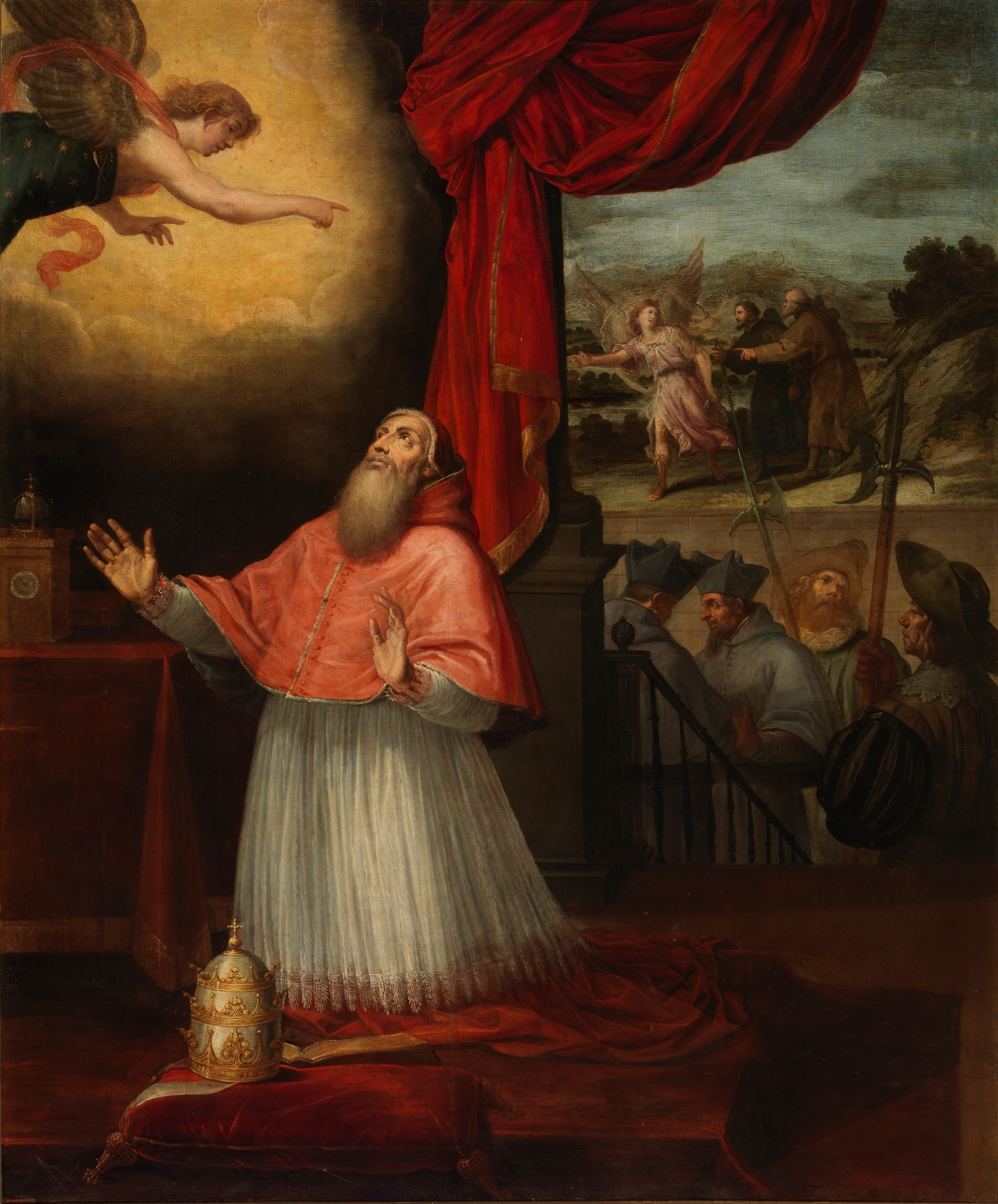 San Juan De Mata Entrega Las Cartas Del Papa Al Rey De Marruecos En