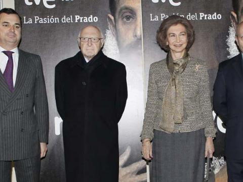 La Reina preside la presentación del documental realizado por TVE en 4K