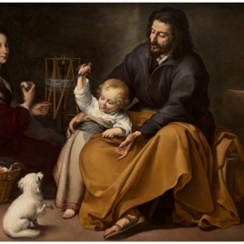The Holy Family with a Little Bird