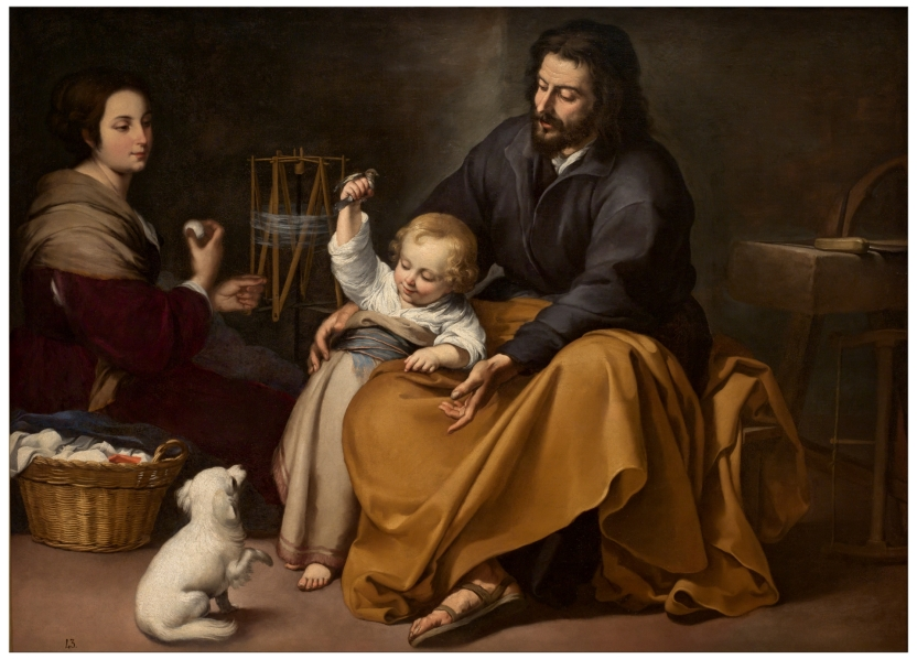 Sagrada Familia del pajarito