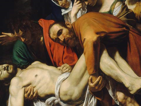 <em>El descendimiento</em> de Caravaggio visita el Prado