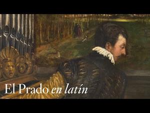"""""""Venus recreándose en la Música"""", de Tiziano, con comentarios en latín"""