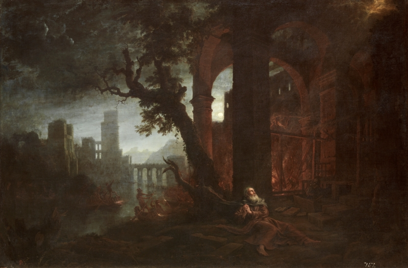 Landscape with the Temptations of Saint Anthony