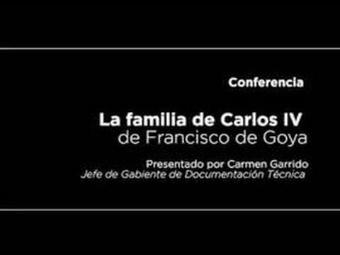 Conferencia: La familia de Carlos IV, de Goya