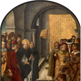 Santo Domingo y los albigenses