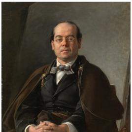 El pintor Ventura Miera