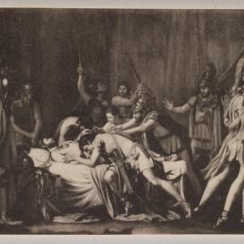 La muerte de Viriato, jefe de los lusitanos