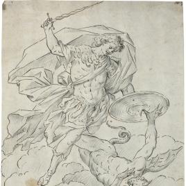 San Miguel venciendo a Satán