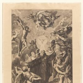 San Agustín de la iglesia de los agustinos recoletos de Copacavana de Madrid