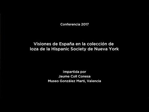 Visiones de España en la colección de loza de la Hispanic Society de Nueva York