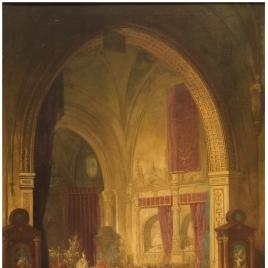 Ceremonia en la Capilla de los Reyes Nuevos de la catedral de Toledo