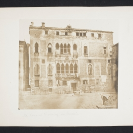 Palacio Gritti Morosini Badoer en Venecia