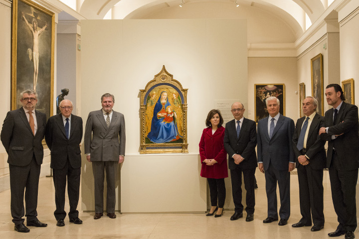 El Museo del Prado expone las nuevas incorporaciones de Fra Angelico a su colección
