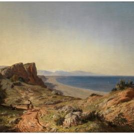 Un país. Recuerdos de Andalucía. Costa del Mediterráneo, junto a Torremolinos