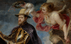 The Restoration of Philip II on Horseback by Rubens