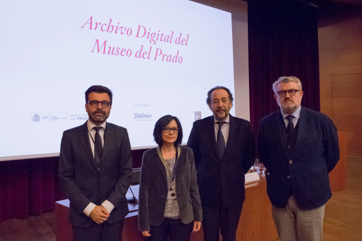 The Museo del Prado and Telefónica are collaborating to make the archive that documents the Museum's nearly 200 years of history available on its website