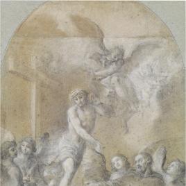 Aparición de Cristo a San Pellegrino Laziosi