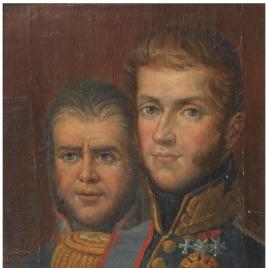 Antonio San Quirico y Carlos Alberto Saboya-Carignan, príncipe de Carignan