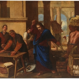 Casting the Money Changers out of the Temple