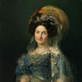 Maria Cristina of Bourbon, Queen of Spain