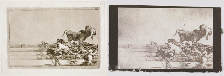 Originales, copias e interpretaciones. Goya